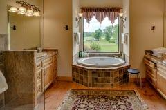 De Fotografie van Texas Mini Farm /Ranch Real Estate royalty-vrije stock fotografie
