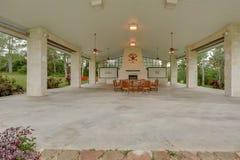 De Fotografie van Texas Mini Farm /Ranch Real Estate royalty-vrije stock afbeelding