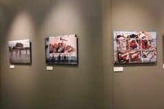 De fotografische tentoonstelling van BRUNO BARBEY 'S Royalty-vrije Stock Foto's