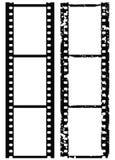 De fotogrens van Grunge, 35 mmfilm, vector Stock Afbeeldingen