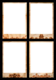 De fotogrenzen van Grunge royalty-vrije stock foto