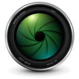 De fotolens van de camera met blind royalty-vrije illustratie