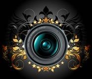 De fotolens van de camera met sierelementen Stock Fotografie