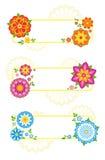 De frames van de bloem Stock Fotografie
