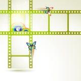 De frames van de film Stock Afbeelding