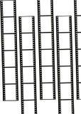 De frames van de film Royalty-vrije Stock Fotografie