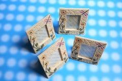 De frames van de foto Stock Foto