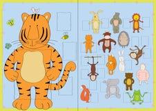 De frames van de foto voor kinderengroep Stock Afbeelding