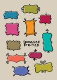 De frames van de krabbel Stock Afbeeldingen