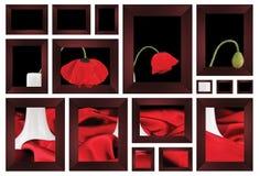 De frames van de kunst Stock Foto's