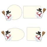 De frames van de sneeuwbal Royalty-vrije Stock Fotografie