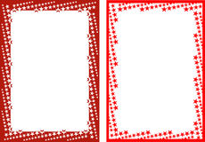 De frames van de ster Stock Foto