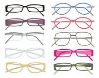 De frames van glazen Royalty-vrije Stock Afbeeldingen