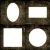 De frames van Grunge Royalty-vrije Stock Afbeeldingen