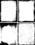 De frames van Grunge Royalty-vrije Stock Fotografie