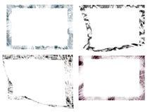 De frames van Grunge Stock Foto's