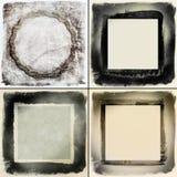 De frames van Grunge Royalty-vrije Stock Foto