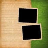 De frames van Grunge van oude documenten Stock Fotografie
