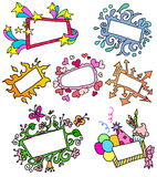 De frames van het concept Royalty-vrije Stock Afbeelding