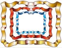 De frames van het lint Vector Illustratie