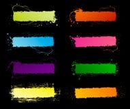 De frames van het spectrum grunge Royalty-vrije Stock Fotografie