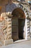 De Franchi Palace. Pisticci. Basilicata. Italy. Royalty Free Stock Photos