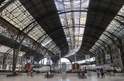 De Francia火车站在中央巴塞罗那 免版税库存图片