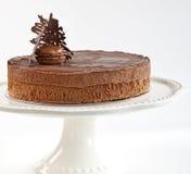 De Franse Cake van de Chocolade Stock Afbeelding