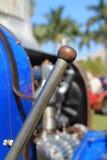 De Franse draaier van de jaren '20raceauto Royalty-vrije Stock Foto