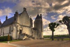 De Franse kerk van Hdr Stock Afbeeldingen