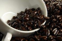 De Franse Koffie van het Braadstuk Stock Fotografie