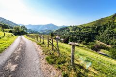 De Franse Pyreneeën Stock Afbeelding