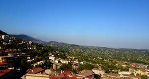 De Franse stad Grasse van de Provence stock footage