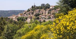 De Franse Stad van de Heuveltop Royalty-vrije Stock Afbeelding