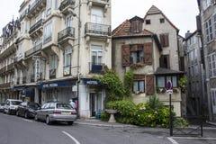 De Franse stad van Pau Stock Foto's