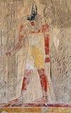De fresko van Anubis Stock Afbeeldingen
