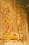 De fresko van Anubis stock afbeelding