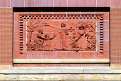 De Fresko van het gerechtsgebouw Royalty-vrije Stock Afbeelding