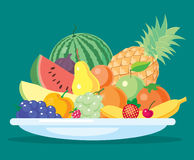 De fruits toujours durée Photo stock