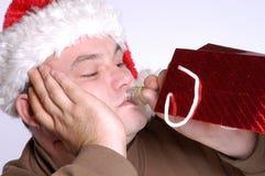 De frustratie van Kerstmis Royalty-vrije Stock Afbeeldingen