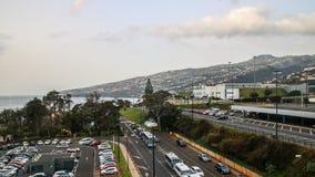 De Funchal à l'aéroport, la Madère Image stock