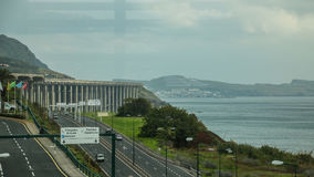 De Funchal à l'aéroport, la Madère Image libre de droits