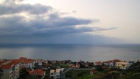 De Funchal à l'aéroport, la Madère Images stock