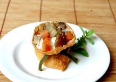 De Fusie van sushi Stock Afbeeldingen