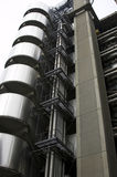 De futuristische bouw Stock Foto's