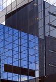 De futuristische Bouw van het Bureau Stock Foto