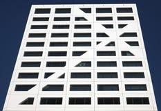 De futuristische bureaubouw Royalty-vrije Stock Afbeelding