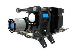 De futuristische filmcamera Royalty-vrije Stock Foto's