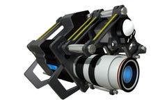 De futuristische filmcamera Royalty-vrije Stock Fotografie