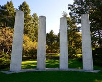 De fyra pelarna Royaltyfria Foton